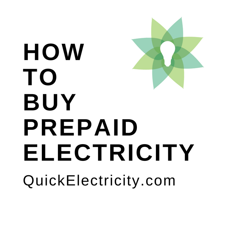 How to buy prepaid electricity by Quick Electricity