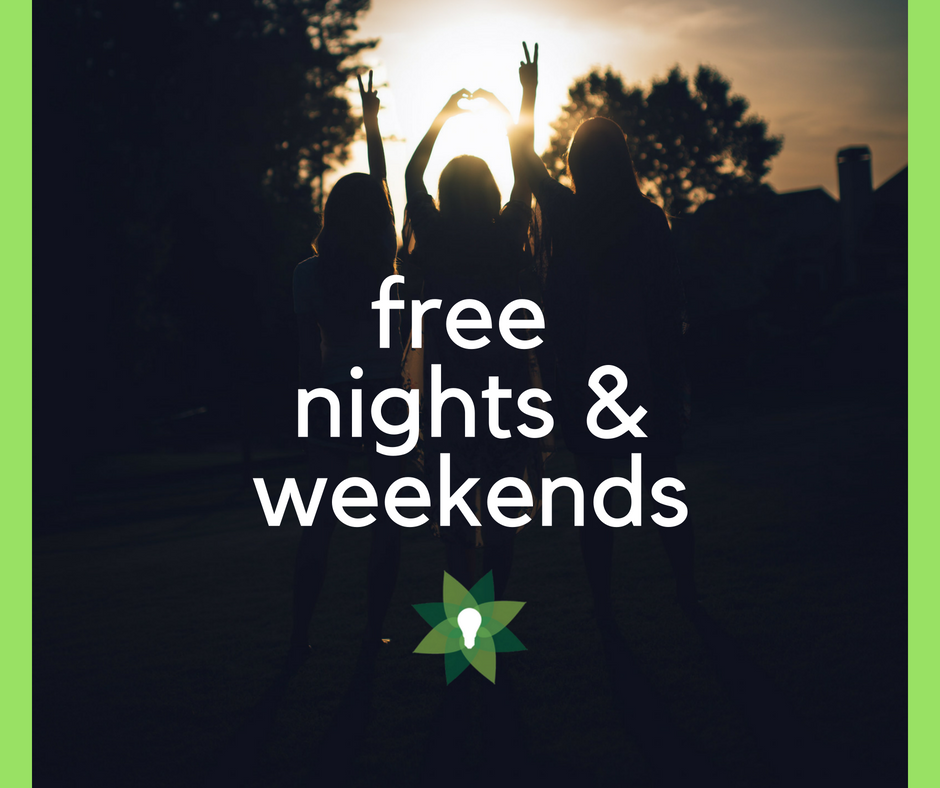 Free Nights and Weekends Electricity in Texas - Quick