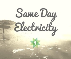 same day electricity