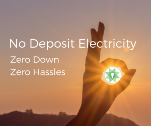 No Deposit Electricity Provider