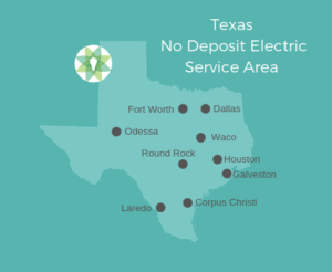 No Deposit Electricity Cities in Texas