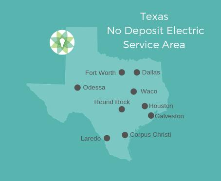 No Deposit Electricity Cities in Texas