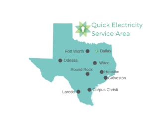 map of prepaid electricity service areas in texas