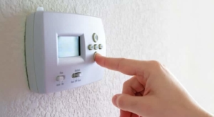 turn down thermostat in the summer heat