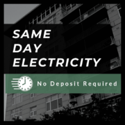 Same Day Electricity - No Deposit (Texas)