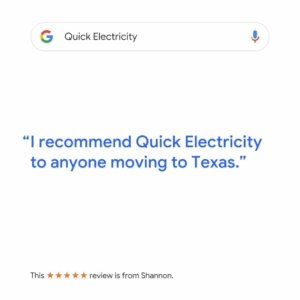 Quick Electricity is on Google
