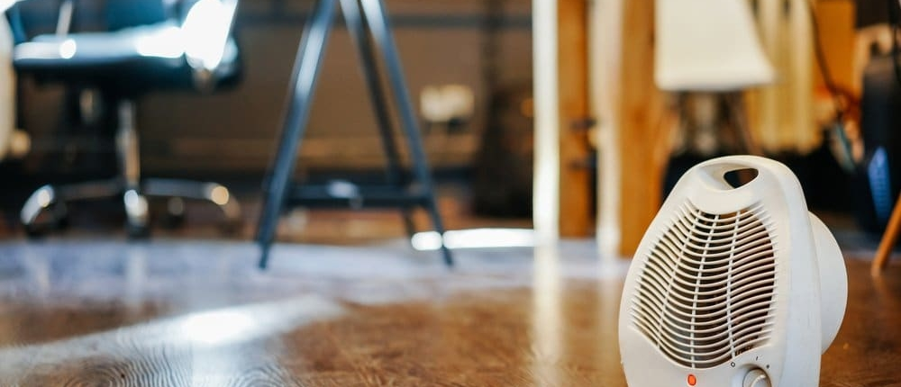 Use a space heater in your apartment and save money
