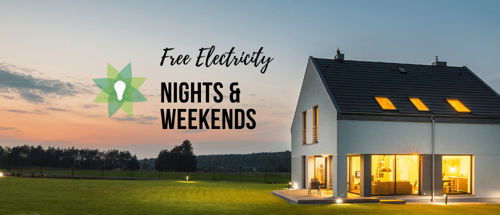 sign up for prepaid electricity with free nights and weekends