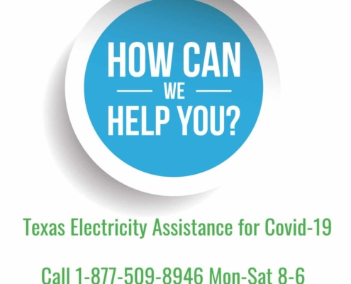 Call Us for Information on Assistance with Your Electricity Bill during Covid-19