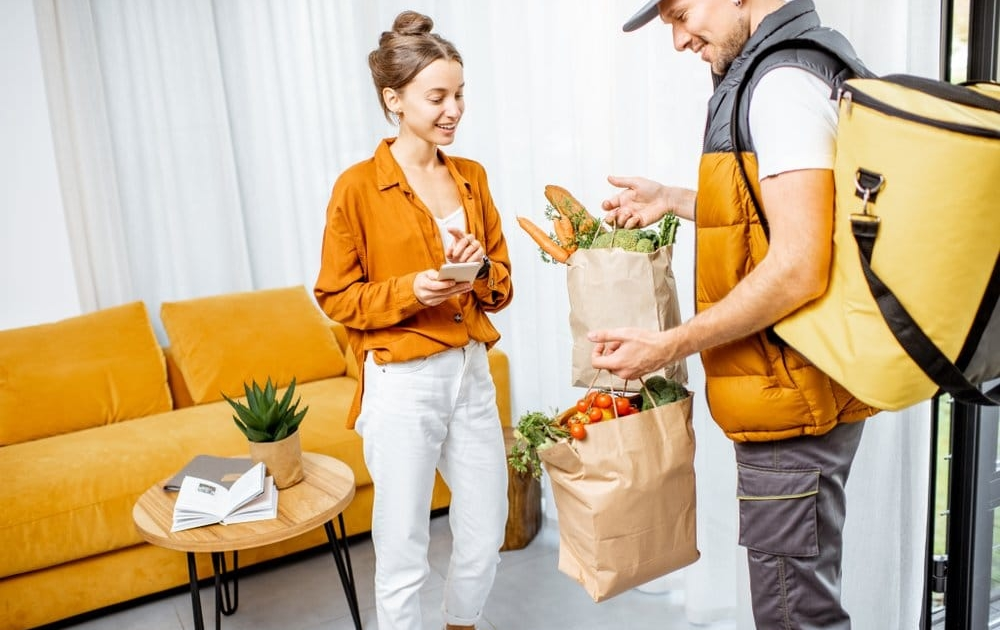 using a prepaid grocery delivery service prevents waste and saves money
