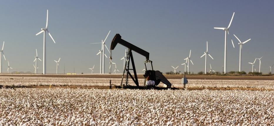 Wind Farms in Texas 2020