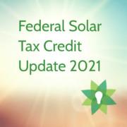 2021 Investment Tax Credit (ITC)