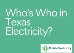 Learn about the agencies and companies involved in the Texas electricity market