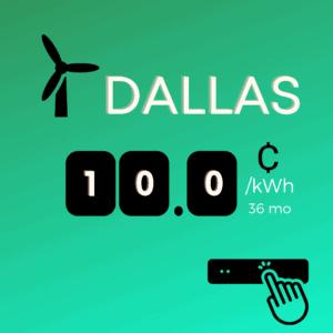 Dallas Texas Electricity Rates