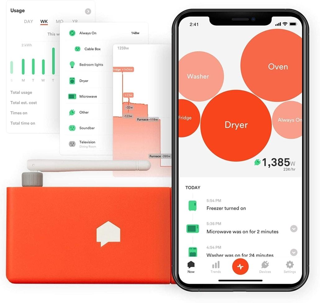 Sense Personal Home Energy Monitor