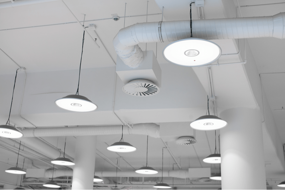 Energy efficient lighting for buildings