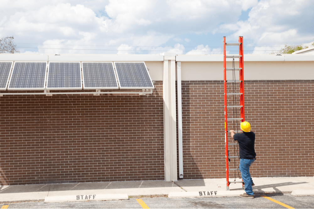 Energy Efficient Buildings with Solar PV Systems